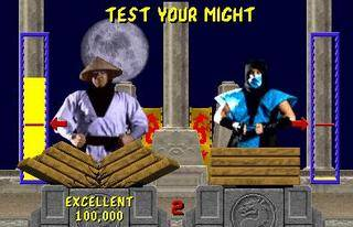 Mortal Kombat screen