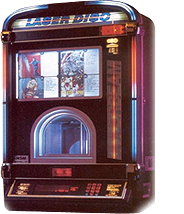 Wall-Mounted Jukebox