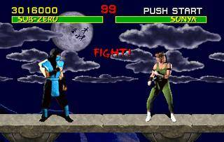 scene from Mortal Kombat